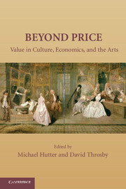 Volume 6: Beyond Price: In Search of Cultural Value