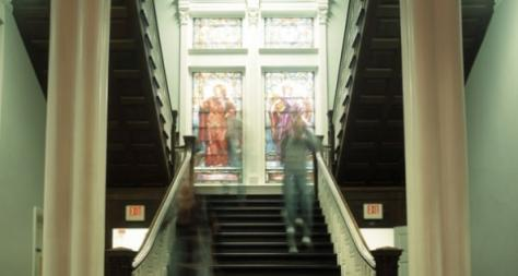 Photo of Tilton Hall Stairwell - The Murphy Institute