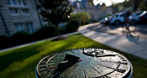 Sundial on Tulane University's Campus - The Murphy Institute