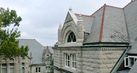 Rooftop of Tilton Hall on Tulane University's Campus - The Murphy Institute