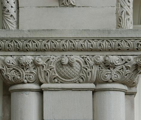 Close-up Photo of Column on Tulane University's Campus - The Murphy Institute