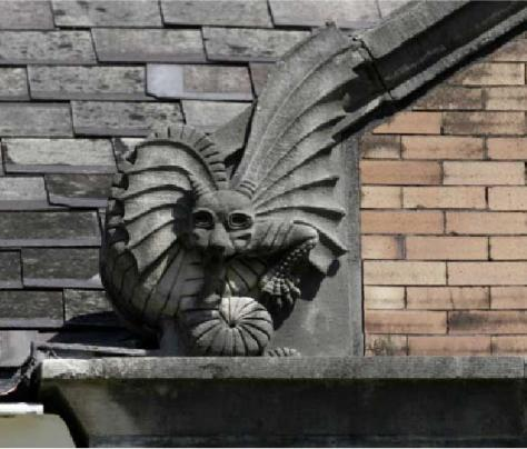 Photo of Gargoyle on Tulane University's Campus - The Murphy Institute