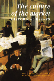 Volume 3: The Culture of the Market