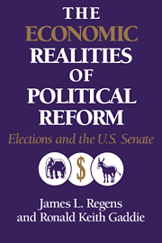 Volume 4: The Economic Realities of Political Reform: Elections and the U.S. Senate