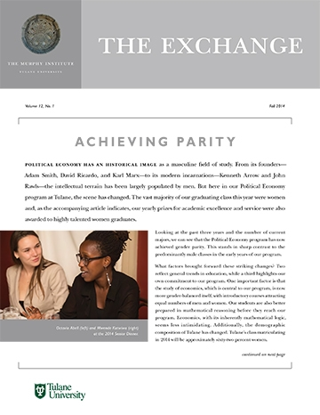 The Exchange, Fall 2014 - The Murphy Institute