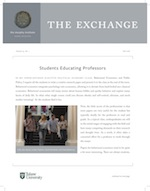 The Exchange, Fall 2018 - The Murphy Institute